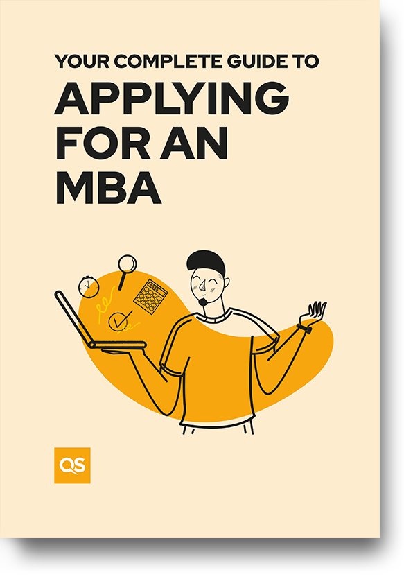 Guide cover - Your complete guide to applying for an MBA