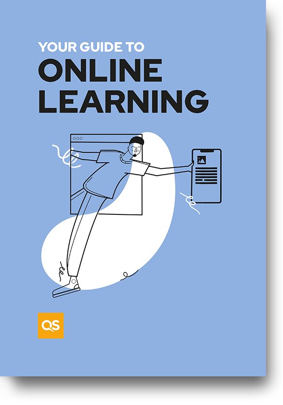 Guide cover - Your guide to online learning